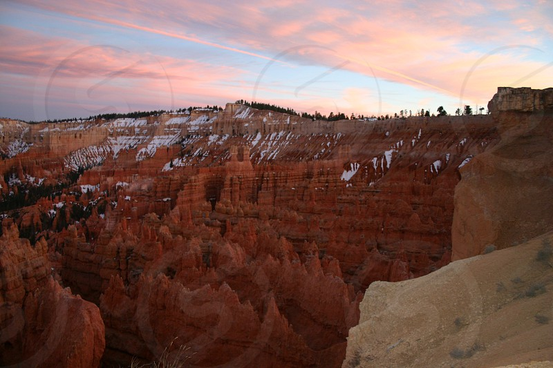 Bryce Canyon Utah Sunset photo