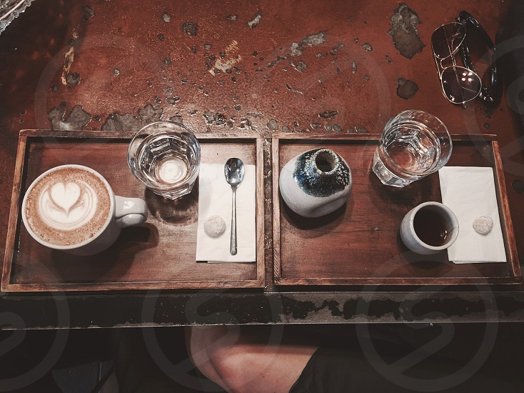 The perfect date: a cup of coffee with your favorite person photo