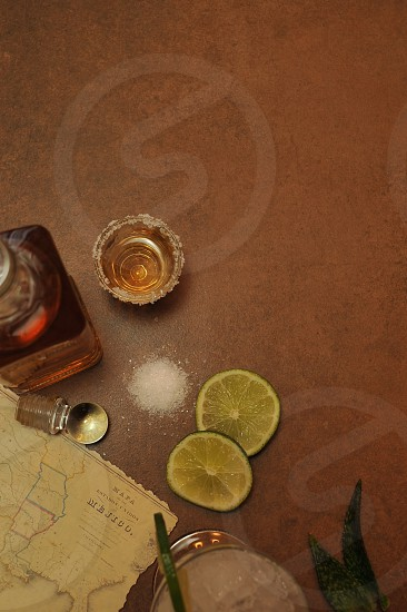 Tequila Top View photo