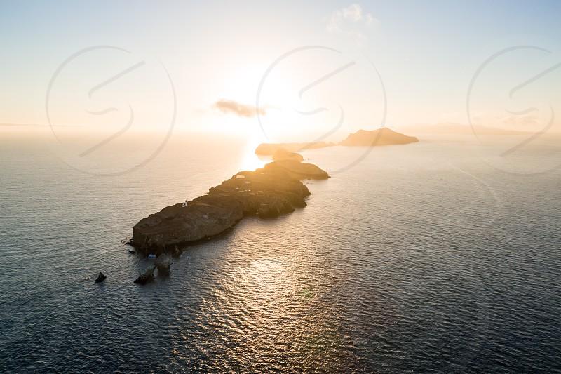 channel islands national park santa barbara california ventura highway 1 anacapa santa cruz aerial helicopter photo
