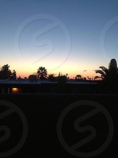 Arizona sunset. photo