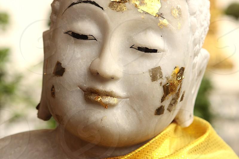 Buddha Face Thailand photo