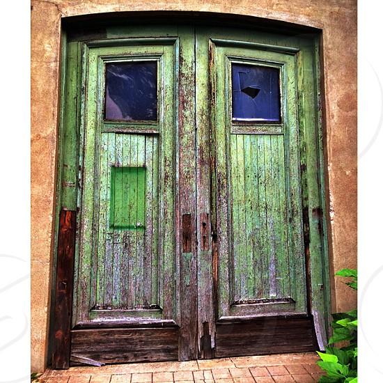 green wood doors photo