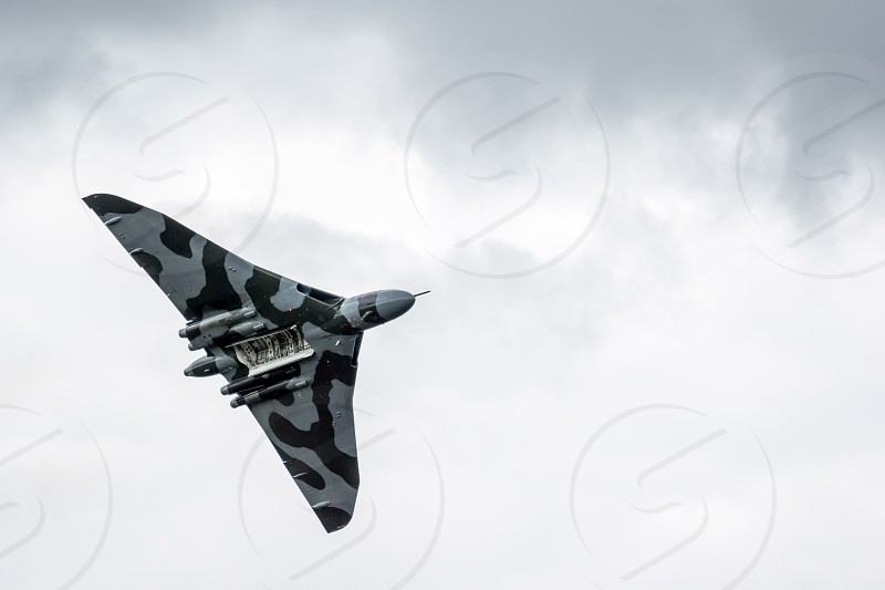 Vulcan Bomber at Shoreham Airshow photo