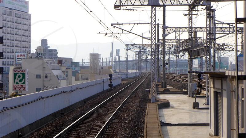 steel railroad photo