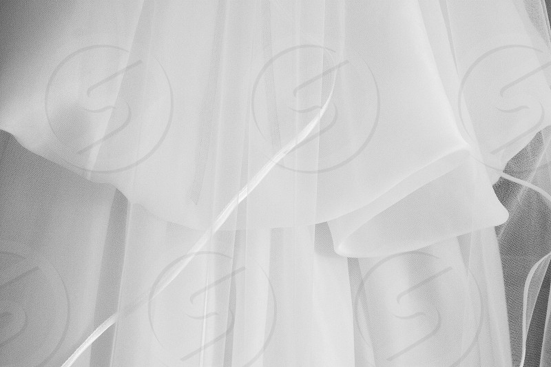 Luxury fabric to use for wedding dresses. photo