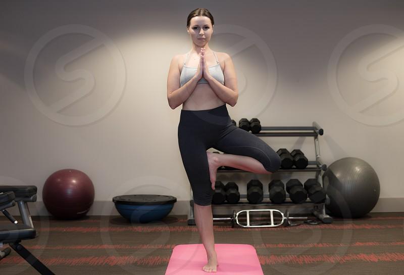 Yoga girl 2 photo