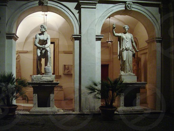 Roman statues photo