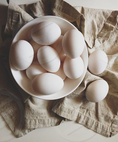 white egg photo
