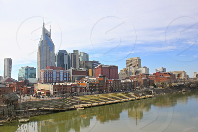 Nashville Tennessee riverfront photo