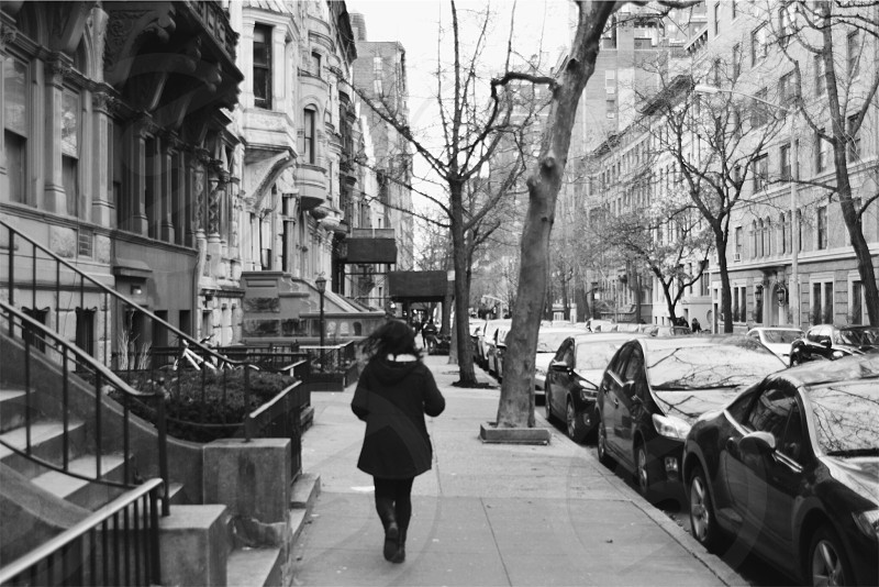 Running through the upper west side photo