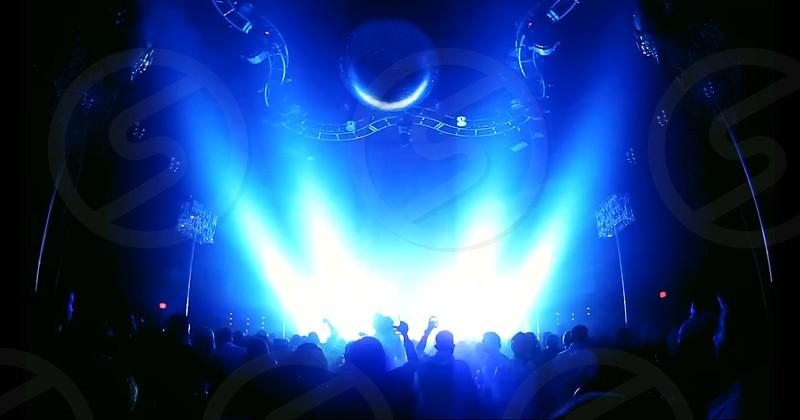 Nightlife dancin' in blue... photo
