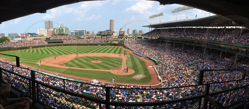 Chicago Cubs' Wrigley Field photo