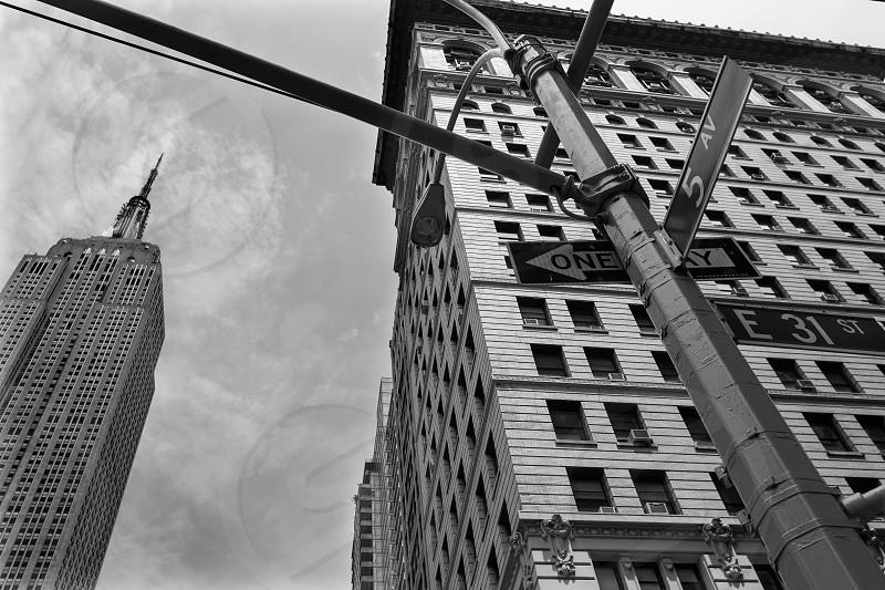 New York city Manhattan Fifth Avenue 5th Av downtown US photo