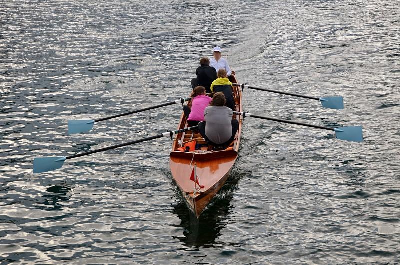 collaboration rowing teams photo