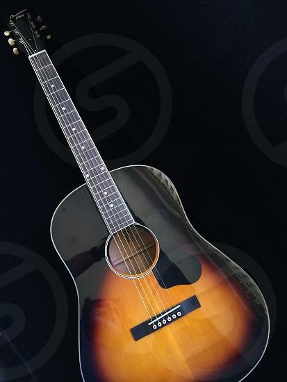 Sunburst 12-fret guitar - velvet Elvis photo