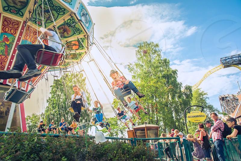 Linnanmäki amusement park/2017.  photo