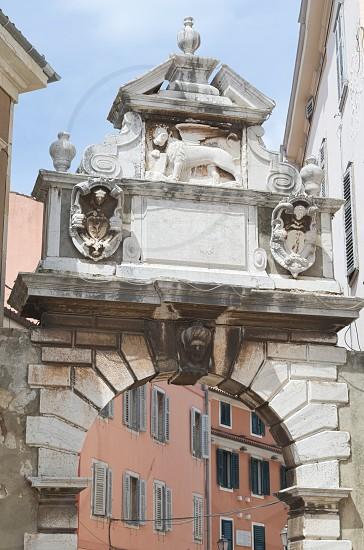 Balbi's Arch in Rovinj Rovigno Istria Croatia photo