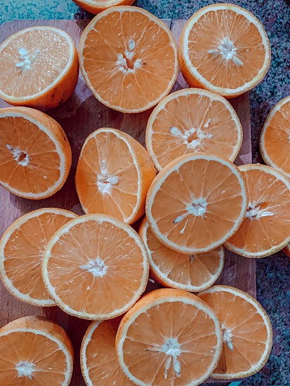 Oranges in the table fresh juice oranges kitchen food food photography  photo