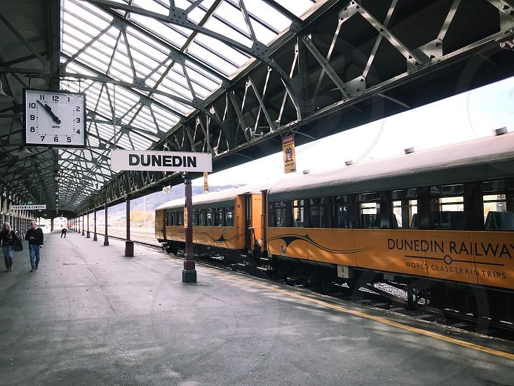 New Zealand Dunedin train photo
