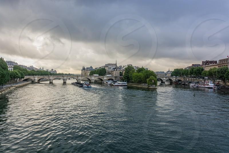 Pont Neuf in Paris France photo