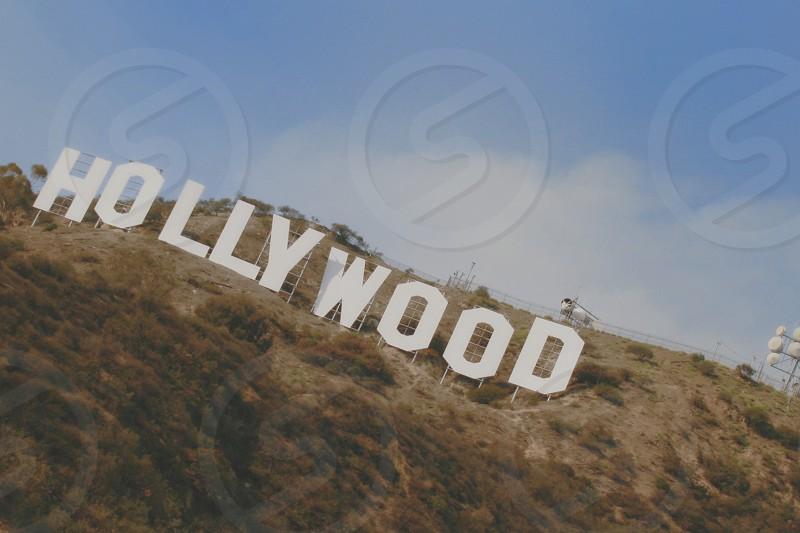 hollywood signage photo
