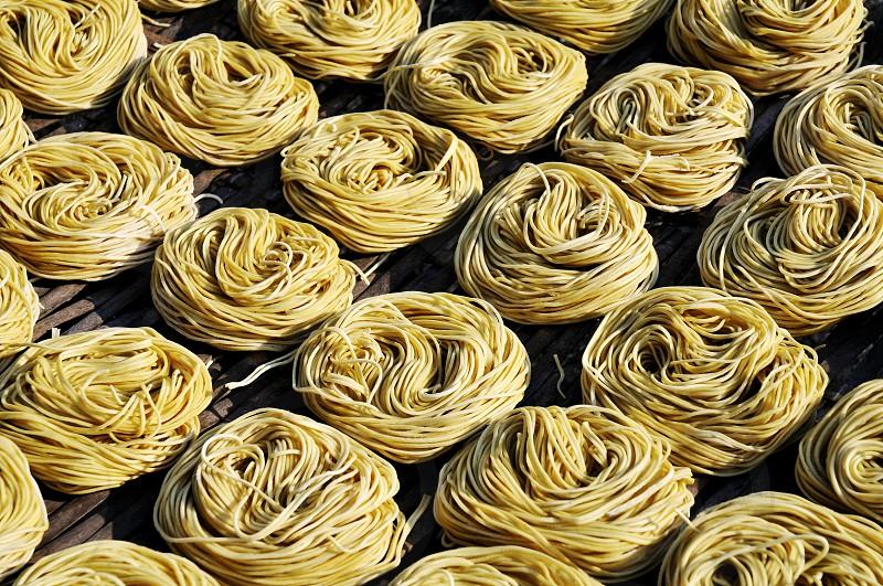 Pasta pattern. photo
