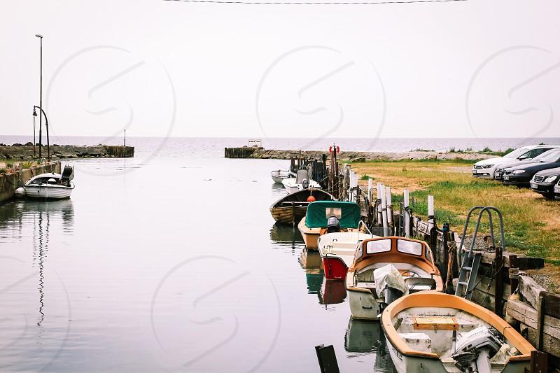 Water transport transport water transportation  harbor boats floating shore coast open sea pier engines photo