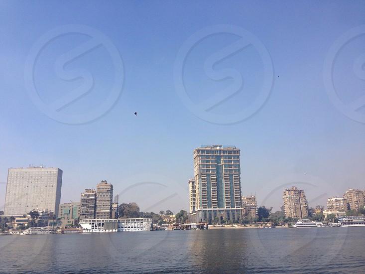 Nile River Buildings  photo