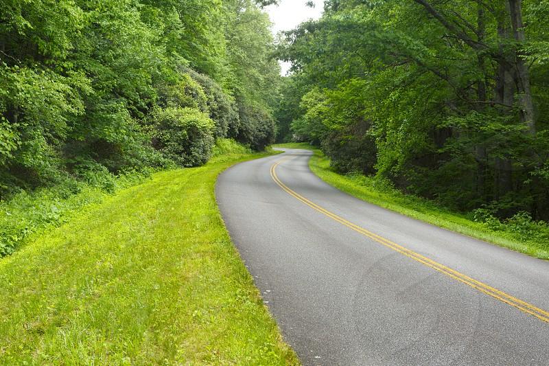 Blue Ridge Parkway - Virginia USA photo