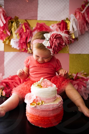 Another of Paisley on her 1st birthday  photo