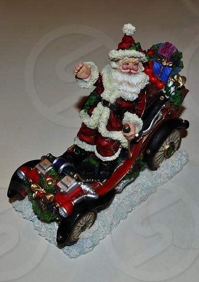 """Santa's """"car"""" photo"""