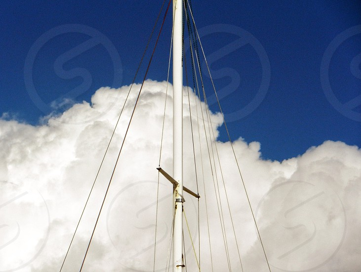 low angle view with cloudy sky photography photo