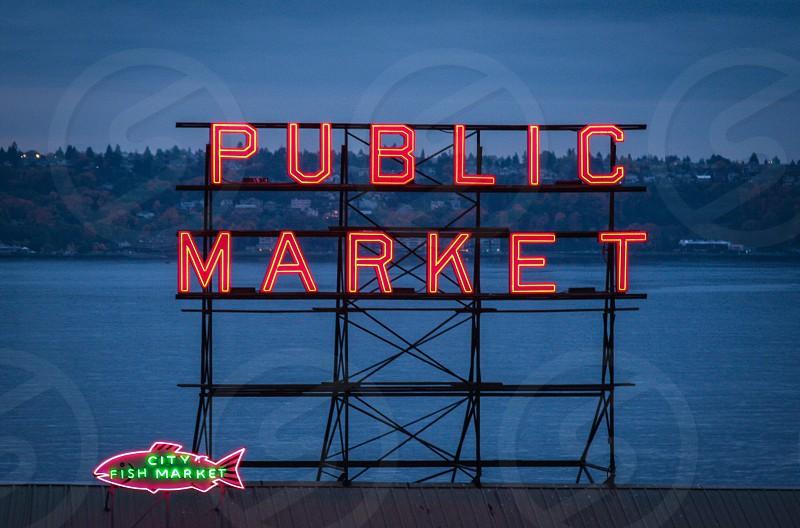 Pike Place Market Seattle photo