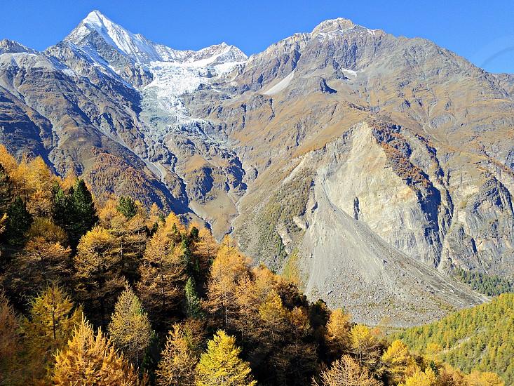 mountain range photography photo