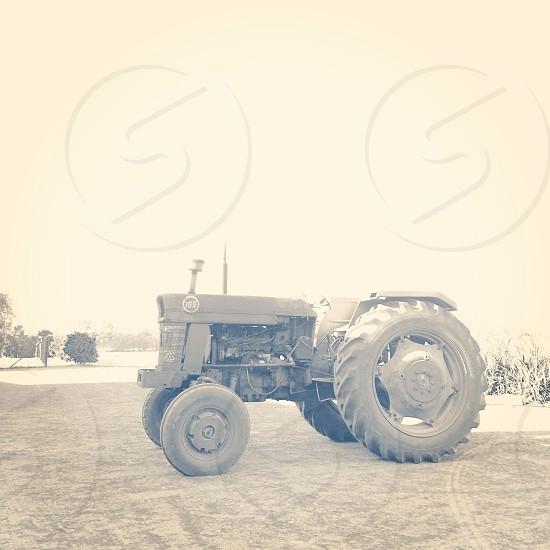 Vintage machinery photo