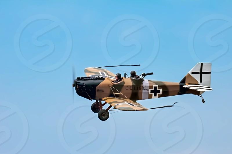 Junkers CL1 (Great War Team) Aerial Display at Biggin Hill Airshow photo