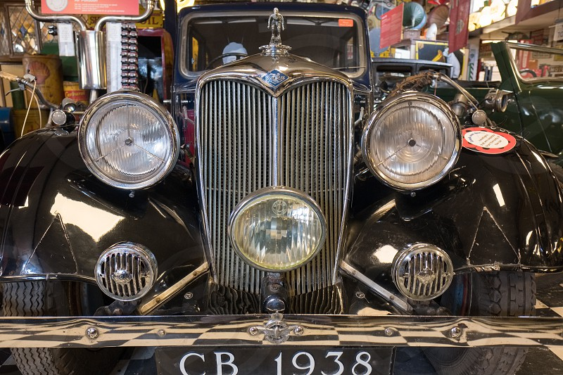 Riley Adelphi 1938 in the Motor Museum at Bourton-on-the-Water photo