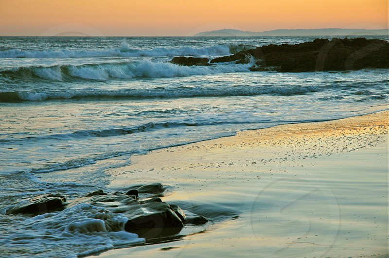 Sunset California photo