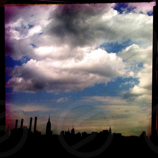 new york city skyline / USA photo