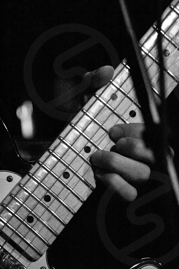 person playing string instrument photo