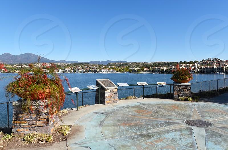 Lake Mission Viejo in Orange County Southern California. photo