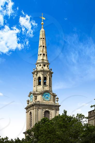 London Trafalgar Square St Martin church of UK England photo