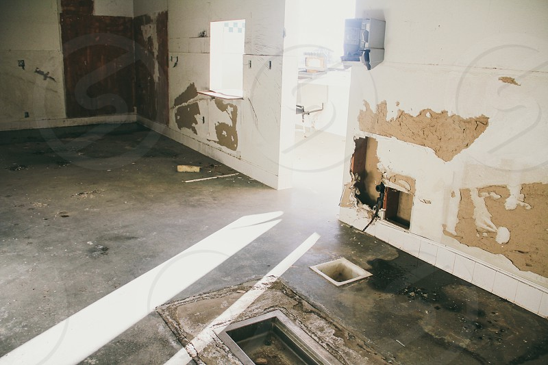 brown floor photo