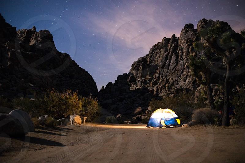 Set up camp photo