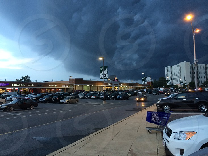 Before storm photo