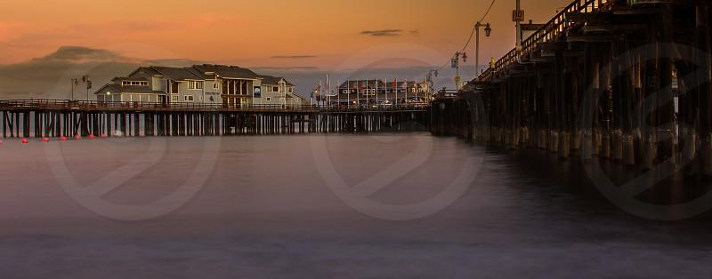 Santa Barbara pier photo