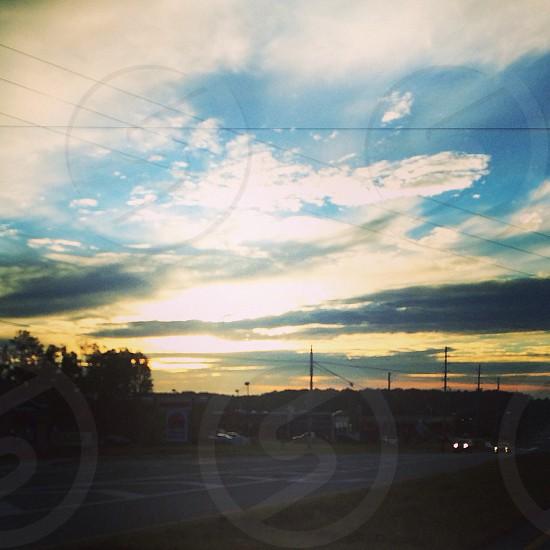 Glorious sunrise photo