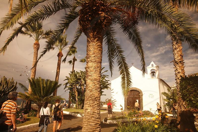The Iglesia  San Telmo of  Puerto de la Cruz on the Island of Tenerife on the Islands of Canary Islands of Spain in the Atlantic.   photo