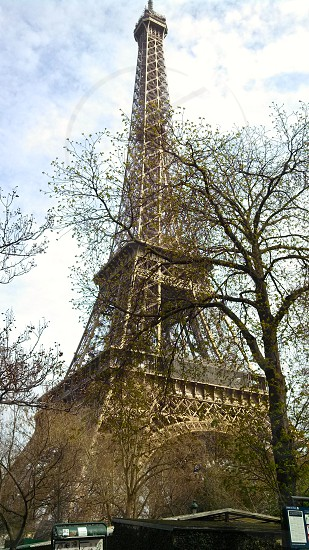 Eiffel Tower Paris France. photo